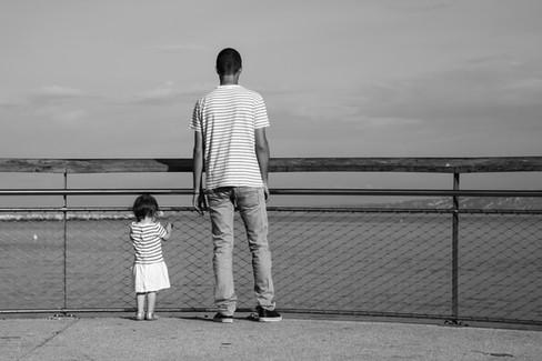 Anaïs et papa