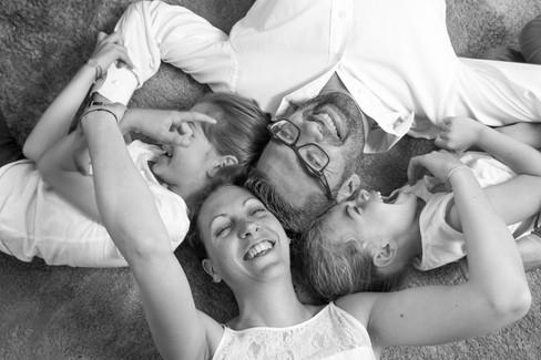 Perrine, Régis, Margot et Justine