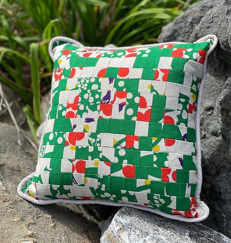 Pieced Japanese Linen Pillow PJL7