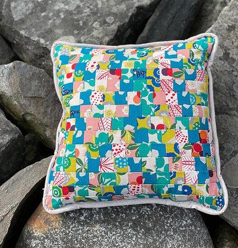 Pieced Japanese Linen Pillow PJL6