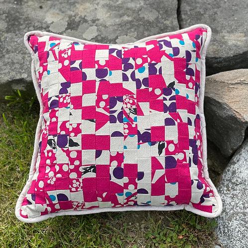 Pieced Japanese Linen Pillow PJL10