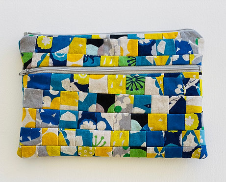 large Pieced Zip Pouch 9