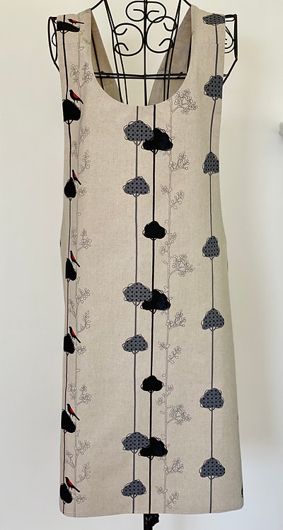 Japanese Linen Apron JL26