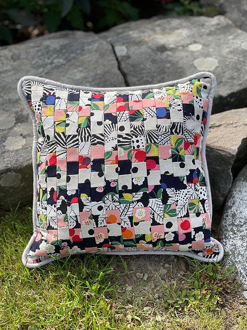 Pieced Japanese Linen Pillow PJL2