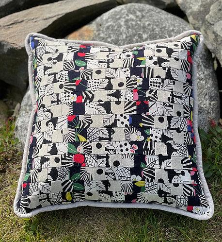 Pieced Japanese Linen Pillow PJL1