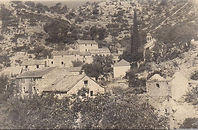 Old photo of Malo Grablje village