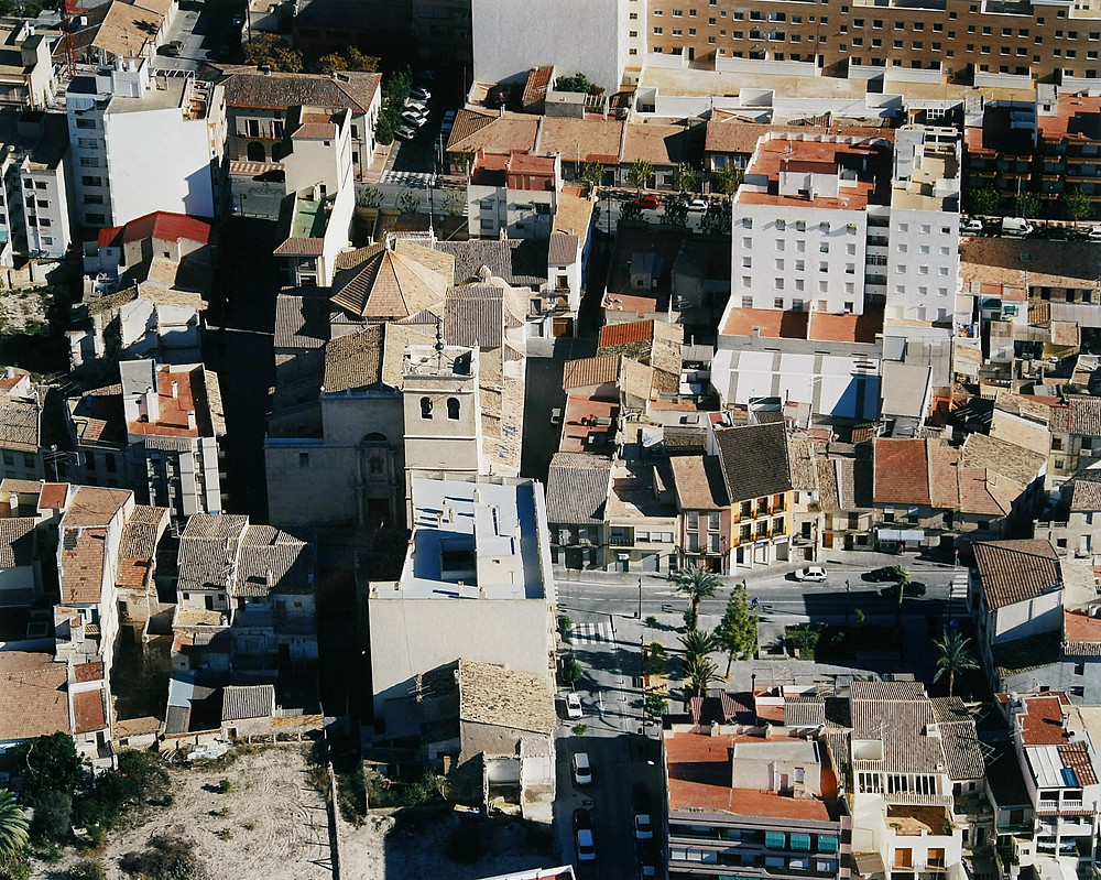 Foto: Arxiu Municipal Mutxamel. Paisajes españoles