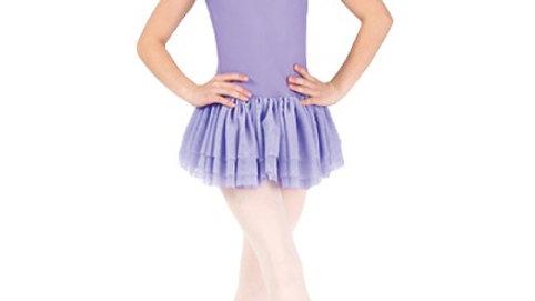 Short Sleeve Dance Dress