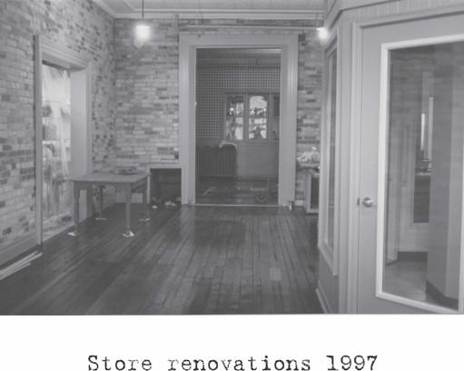 Renovations 1997