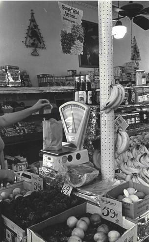Fruit store circa 1968
