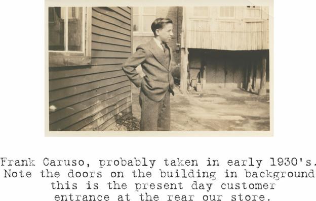 Frank Caruso 1930's