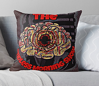 The Mindless Morning Show Pillow