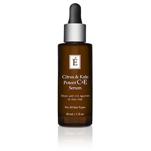 CITRUS & KALE POTENT C+E SERUM: Collagen boosting serum