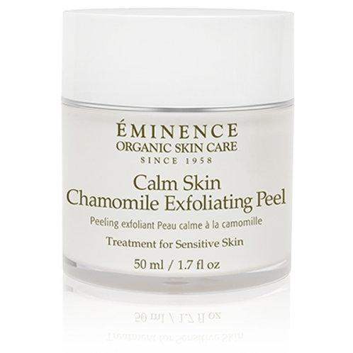 CALM SKIN CHAMOMILE EXFOLIATING PEEL: Gentle exfoliating peel solution