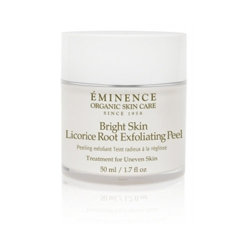 BRIGHT SKIN LICORICE ROOT EXFOLIATING PEEL: For uneven pigmentation