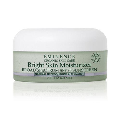 BRIGHT SKIN MOISTURIZER SPF 30: Protective and corrective moisturizer