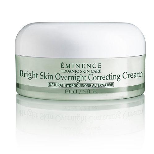BRIGHT SKIN OVERNIGHT CORRECTING CREAM: Ultra-rich brightening moisturizer
