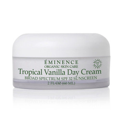 TROPICAL VANILLA DAY CREAM SPF 32: Daily moisturizer with UV protection