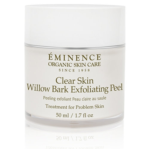 CLEAR SKIN WILLOW BARK EXFOLIATING PEEL: For problem skin types