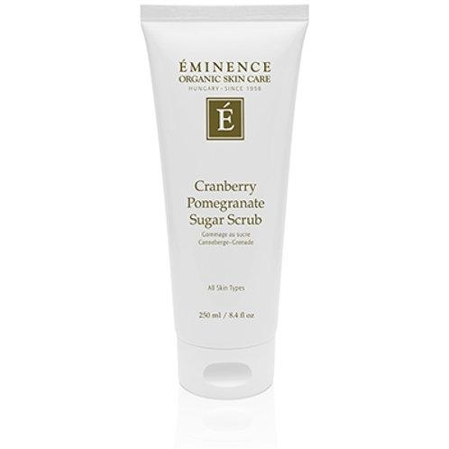 CRANBERRY POMEGRANATE SUGAR SCRUB: Vitamin-rich body scrub for all skin types