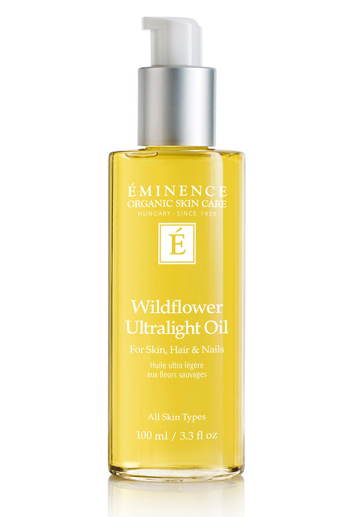 WILDFLOWER ULTRALIGHT OIL: Multi-purpose nourishment for skin, hair & nails