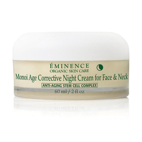 MONOI AGE CORRECTIVE NIGHT CREAM FOR FACE & NECK: Rich face, neck & decolletage