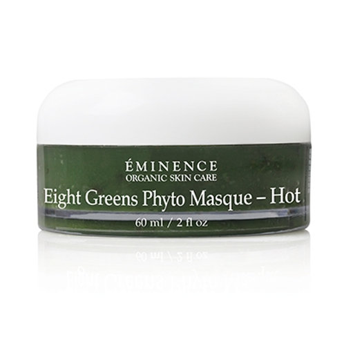 EIGHT GREENS PHYTO MASQUE (HOT): Firming, lifting and hydration mask