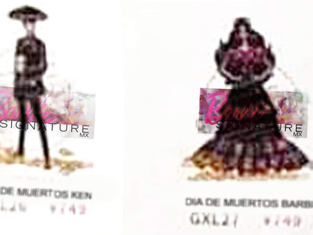 Barbie e Ken Dia de Muertos 2021