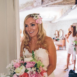 Always lovely receiving pictures from my gorgeous brides