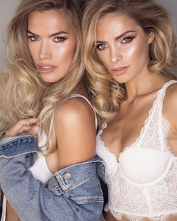 Hair and make up for these two beauties