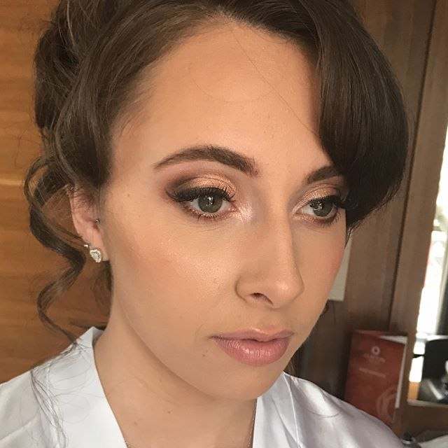 This mornings absolutely stunning #bride Kirstie #bridetobe #bridalhair #bridalmakeup _makeupartistc