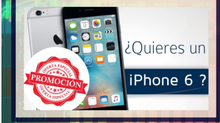 Promoción iPhone 6