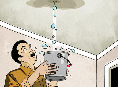 6 signs of a Leaking Roof!