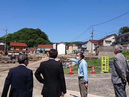 【現地の声を聞く】島根町加賀の大規模火災