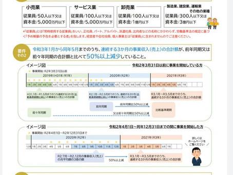 松江市事業継続支援給付金