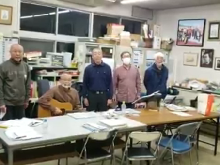 作曲家の高田りゅうじさんとナッパーズのみなさんから歌声のエールが!
