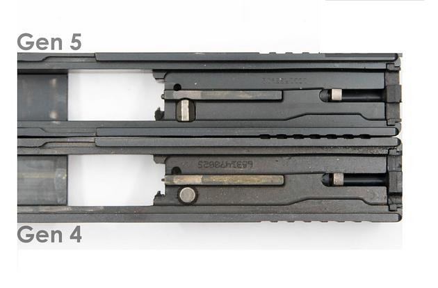 Glock Gen 5 and Gen 4 Differences