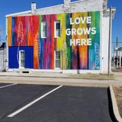 Love Grows Here Mural