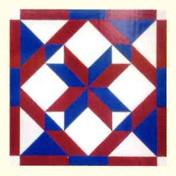 12. Patriotic Mosaic Star