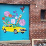Keep on Truckin Mural