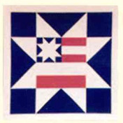24. Americana Star Block