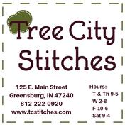 Tree City Stitches