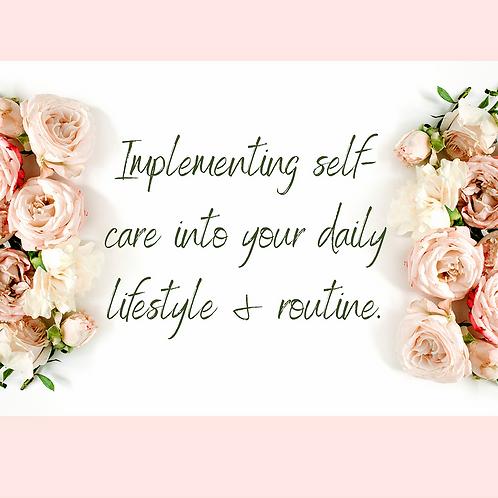 Self-Care E-Book