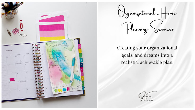 Organizational Home Planning Services