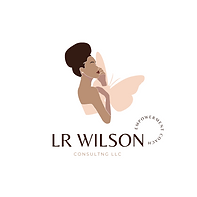 Classy Woman Illustration with Tropical