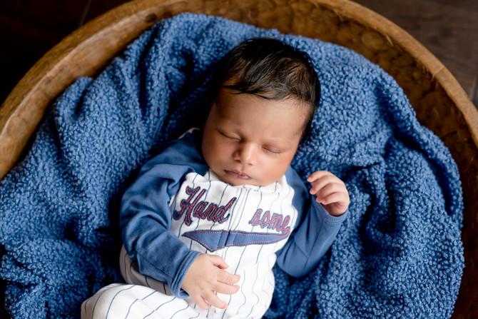 Toronto West / Mississauga East Photographer | Baby Kabeer at 10 days | Brampton Newborn