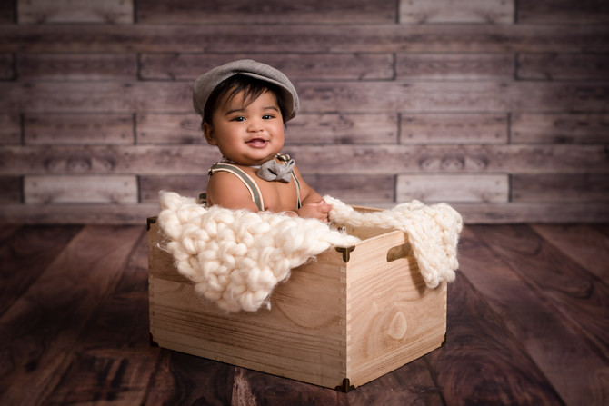 Toronto West / Mississauga East Photographer | Baby Sahir at 6 months | 6 months