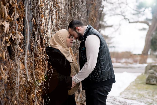 Toronto West / Mississauga East Photographer | Ranya and Belhal | Mississauga Maternity
