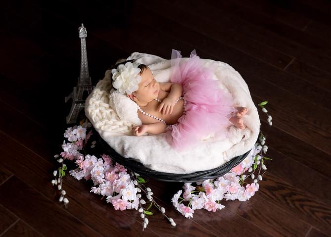 Toronto West / Mississauga East Photographer | Baby Adrijana | Mississauga Newborn