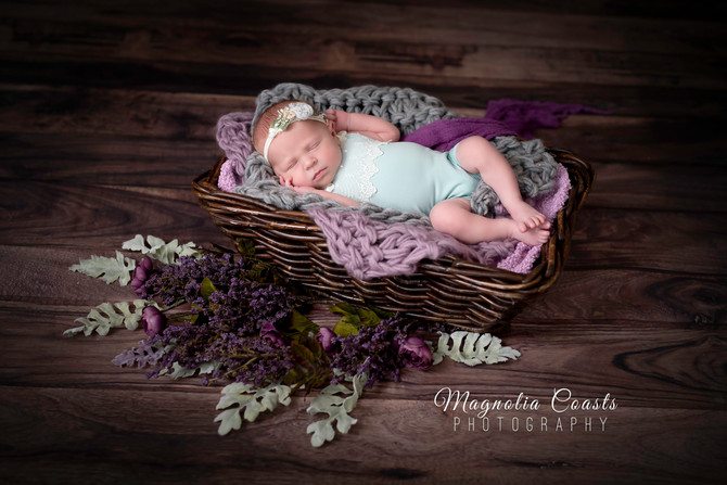 Toronto West / Mississauga East Photographer | Bows for Baby Stella | Newborn